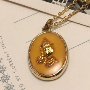 Vintage Prayer Necklace